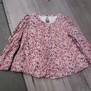 Cute flowery blouse 3T